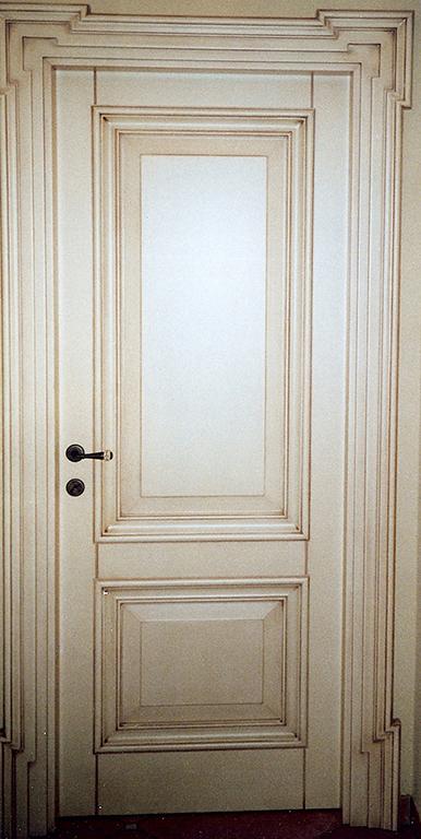 A pesaro porte e portoni in legno massello - Porta tamburata legno ...